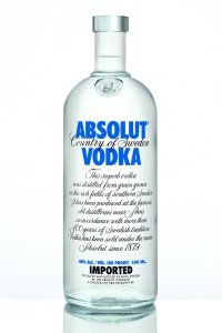 Absolut Blue - wódka na wesele