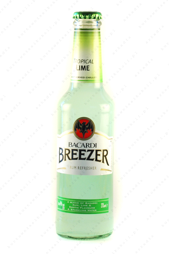 Bacardi Breezer Lime 4% 0,275L