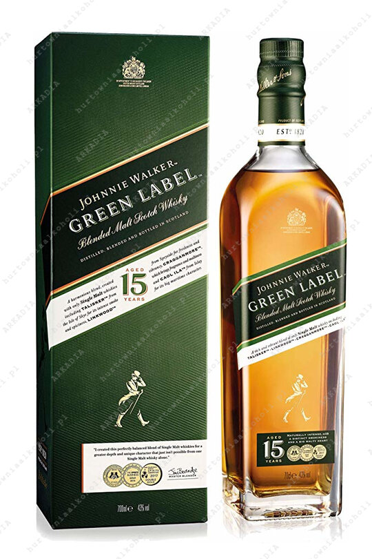 Johnnie Walker Green Label 40% 0,7L kartonik