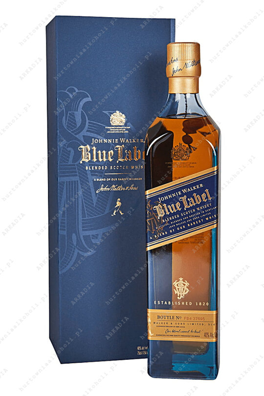 Johnnie Walker Blue Label 40% 0,75L kartonik