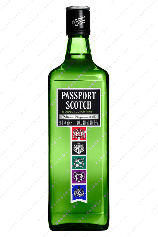 Passport Scotch 40% 0,5L