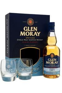 Glen Moray Peated  Glass Pack 40% 0,7l