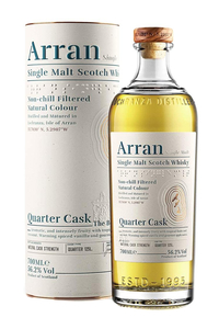 Arran Quater Cask Single Malt 56,2% 0,7l
