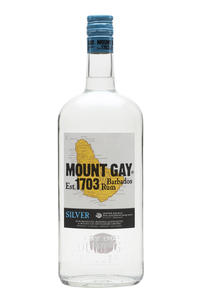 Rum Mount Gay Eclipse Barbados Silver 40% 1l
