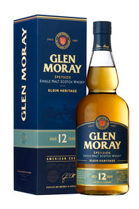 Glen Moray Single Malt 12Y 40% 0,7l