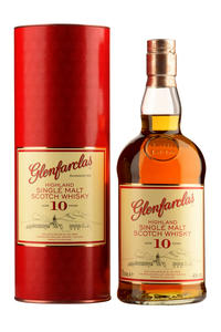 Glenfarclas Single Malt 10Y 40%  0,7l