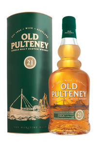Old Pulteney  Single Malt 21Y 46%  0,7l