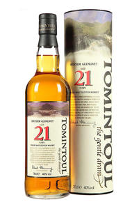 Tomintoul Single Malt 21Y 40% 0,7l