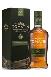 Tomatin 12Y Bourbon Sherry 43%  0,7l