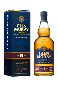 Glen Moray Single Malt 15Y 40% 0,7l