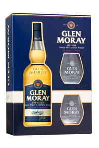 Glen Moray Single Malt Classic 40% 0,7l Glass Pack