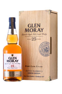 Glen Moray Single Malt  25y Port Cask 43% 0,7l