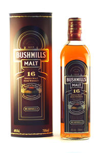 Bushmills Single Malt 16Y 40% 0,7L