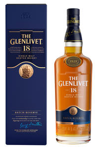 Glenlivet Single Malt 18Y 40% 0,7l kartonik