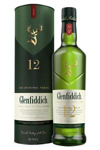 Glenfiddich Single Malt 12Y 40% 0,7l