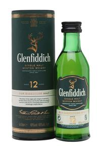 Glenfiddich Single Malt 12Y 40% 0,05l