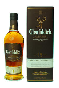 Glenfiddich Single Malt 18Y 40% 0,7l tuba