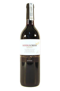 Riddle Creek Shiraz  Cabernet 13.50% 0,75L