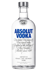 Absolut Blue 40% 0,7L