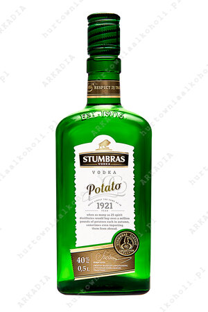 Stumbras Potato 40% 0,5l